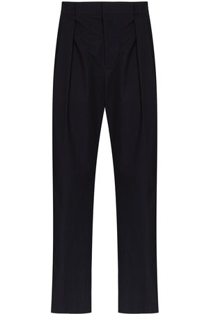 VALENTINO Contrast stripe tailored trousers