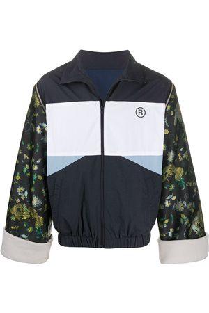 MARTINE ROSE Muži Bundy - Contrasting lightweight sports jacket