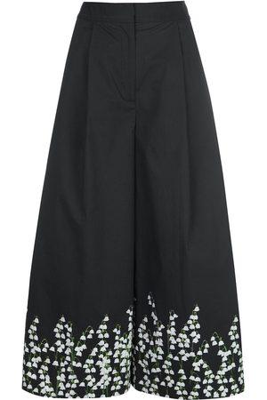 ADAM LIPPES Floral print culottes