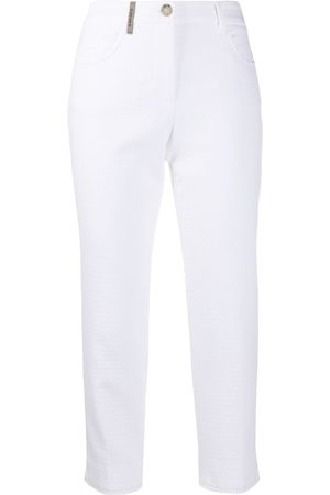 PESERICO SIGN Skinny cropped trousers