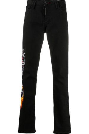Philipp Plein Gothic straight cut trousers