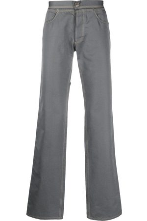 Gianfranco Ferré 1990s low rise straight-fit trousers