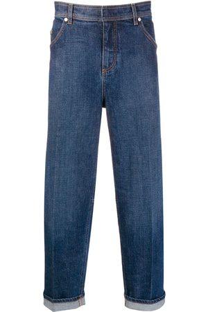 Neil Barrett Turn-up straight-leg jeans