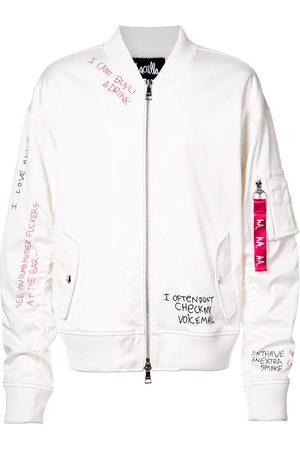 HACULLA Skribble bomber jacket