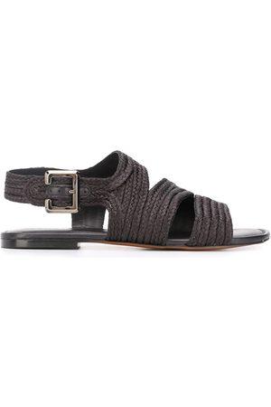 Robert Clergerie Iris braided sandals