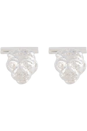 VICTORIA STRIGINI Lions Head cufflinks