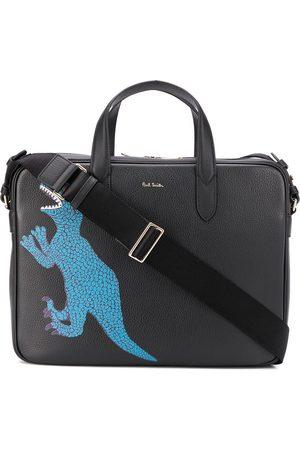 Paul Smith Dinosaur print laptop bag