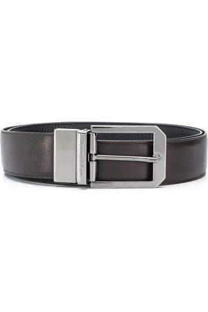 Ermenegildo Zegna Classic square buckle belt