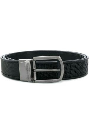 Ermenegildo Zegna PELLETESSUTA™ textured belt