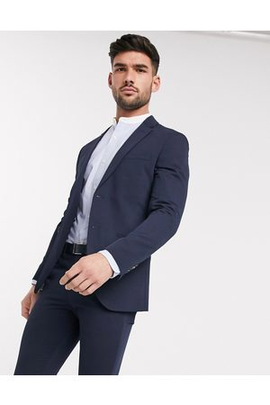Jack & Jones Muži Saka - Premium super slim stretch suit jacket with recycled polyester in navy