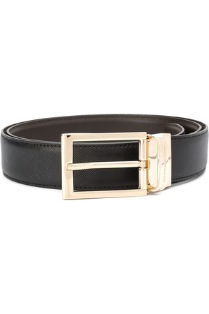 Ermenegildo Zegna Rectangular-buckle belt