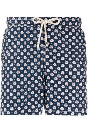 MC2 SAINT BARTH Piggy-print swim shorts