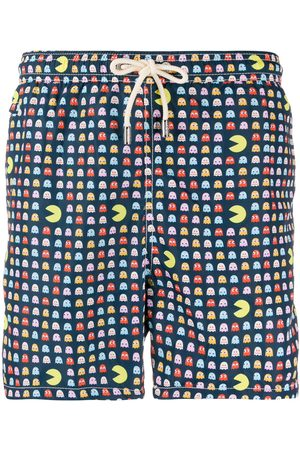 MC2 SAINT BARTH Muži Šortky - Pacman-print swim shorts
