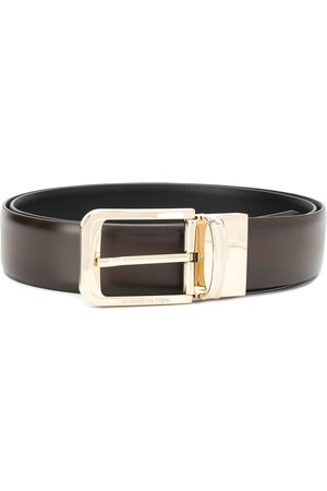 Ermenegildo Zegna Polished buckle belt