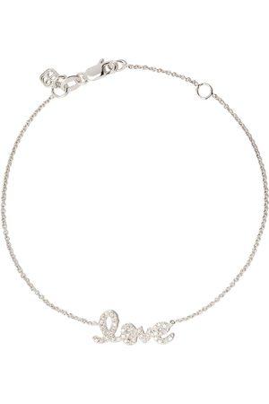 Sydney Evan Ženy Náramky - 14kt white gold diamond love bracelet