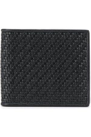 Ermenegildo Zegna Woven bi-fold wallet