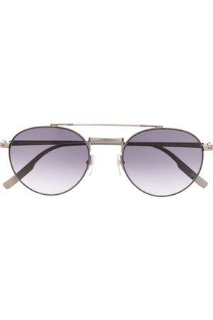 Ermenegildo Zegna Rounded aviator sunglasses