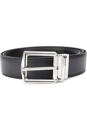 Ermenegildo Zegna Polished-buckle belt