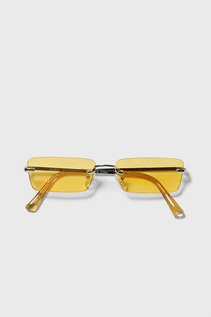 Zara Muži Sluneční brýle - Sluneční brýle obdélníkového tvaru