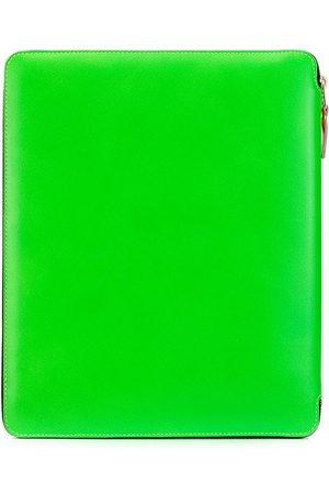 Comme des Garçons Colour block zipped laptop case