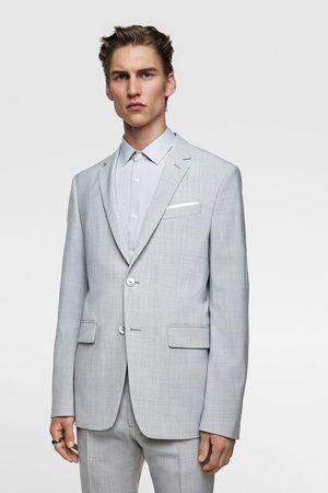 Zara Muži Saka - Oblekové sako se strukturou