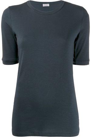 Brunello Cucinelli Ženy S krátkým rukávem - Short-sleeve fitted T-shirt