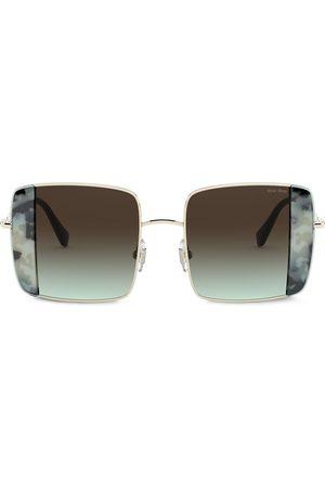 Miu Miu Eyewear Noir oversized-frame sunglasses
