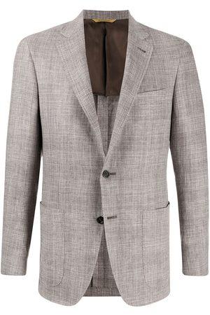 CANALI Muži Saka - Fitted checked blazer