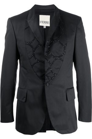 Gianfranco Ferré 1990s sequin detailed blazer