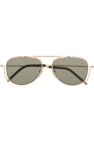 Thom Browne TBS917 aviator sunglasses