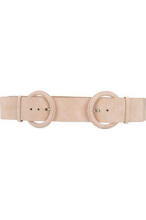 Gianfranco Ferré 2006 double buckle belt