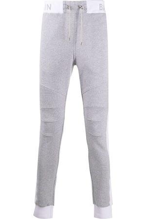 Balmain Muži Úzké nohavice - Slim-fit track pants