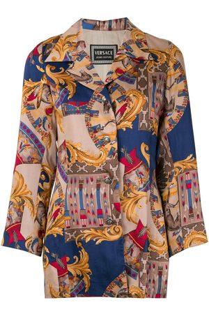 VERSACE Baroque print jacket