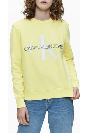 Calvin Klein Ženy Mikiny bez kapuce - Dámská mikina Monogram