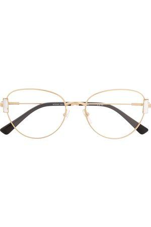 Moschino Eyewear Sluneční brýle - Round-frame glasses
