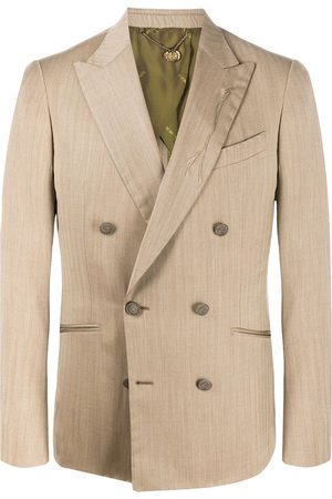 MAURIZIO MIRI Double-breasted fitted blazer