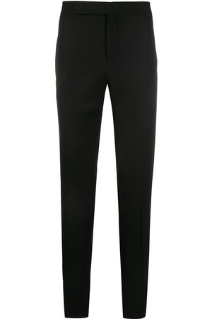 Saint Laurent Side-stripe tailored trousers