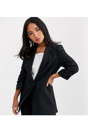 ASOS ASOS DESIGN Petite mix & match suit blazer-Black