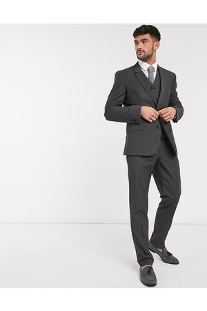 ASOS Slim suit trousers in charcoal-Grey