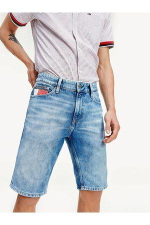 Tommy Hilfiger Muži Šortky - Pánské džínové šortky Heritage