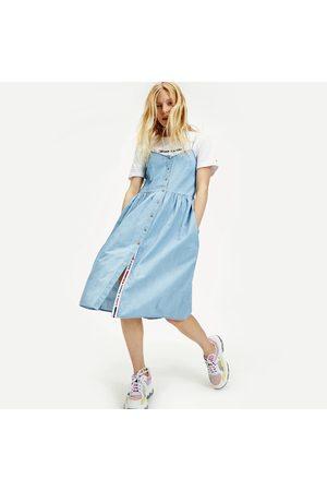 Tommy Hilfiger Ženy Džínové šaty - Dámské džínové šaty Chambray