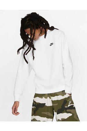 Nike Club crew neck sweat in white