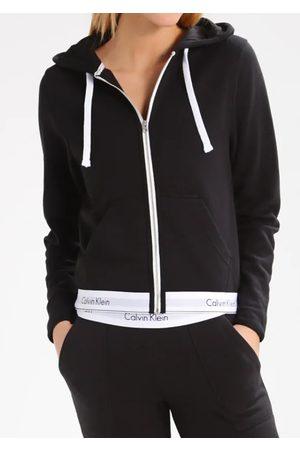 Calvin Klein Ženy Mikiny s kapucí - Dámská mikina s kapucí QS5667E L