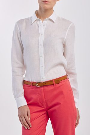 GANT Košile The Linen Chambray Shirt