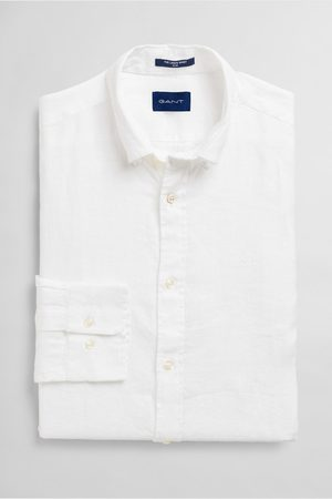 GANT Košile The Linen Shirt Slim Bd