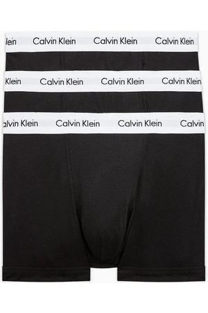 Calvin Klein Pánské černé boxerky 3pack