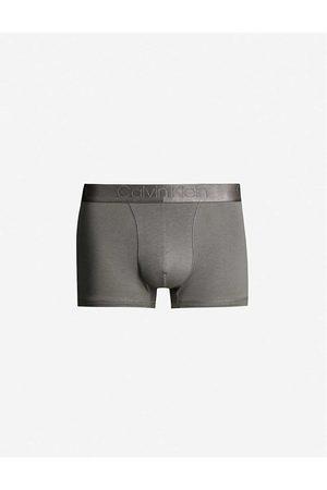 Calvin Klein Pánské tmavě šedé boxerky