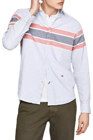 Pepe Jeans Muži Košile - Pánská světle košile Wyatt