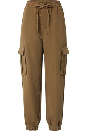 Urban Classics Kapsáče 'Ladies Viscose Twill Cargo Pants