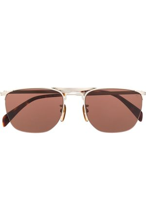 David beckham DB 1001/S half rim geometric sunglasses